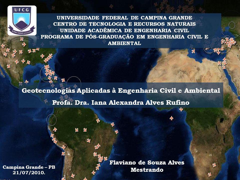 Geotecnologias Aplicadas à Engenharia Civil e Ambiental