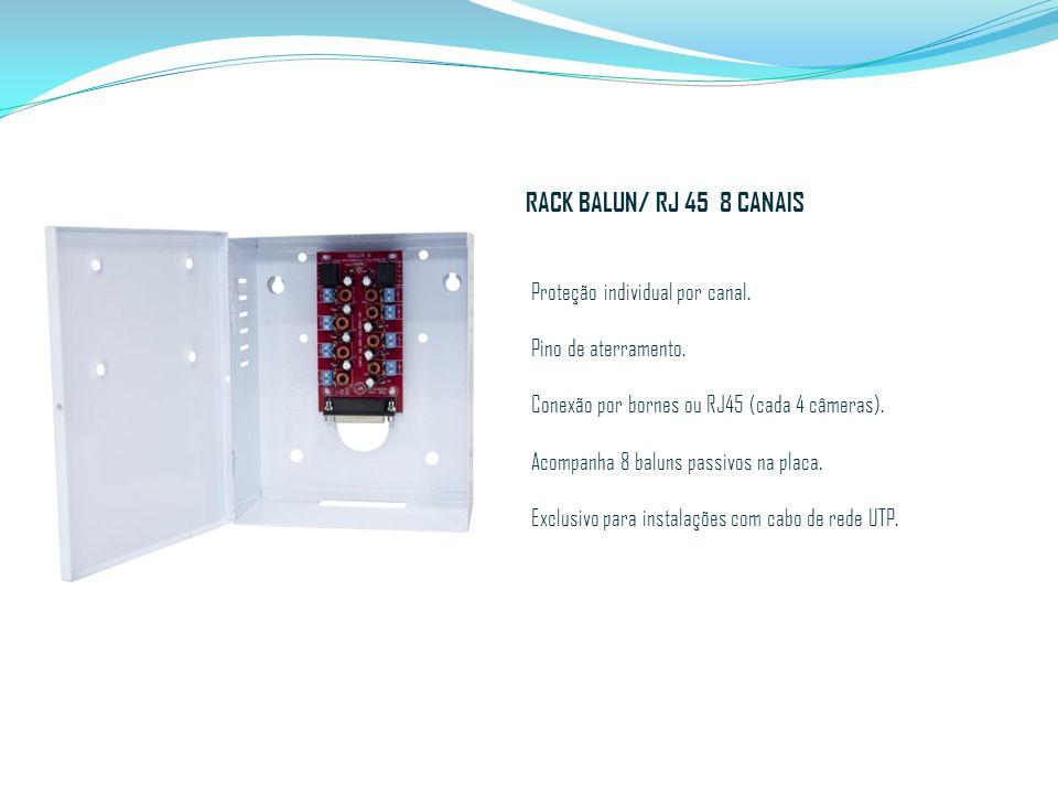RACK BALUN/ RJ 45 8 CANAIS