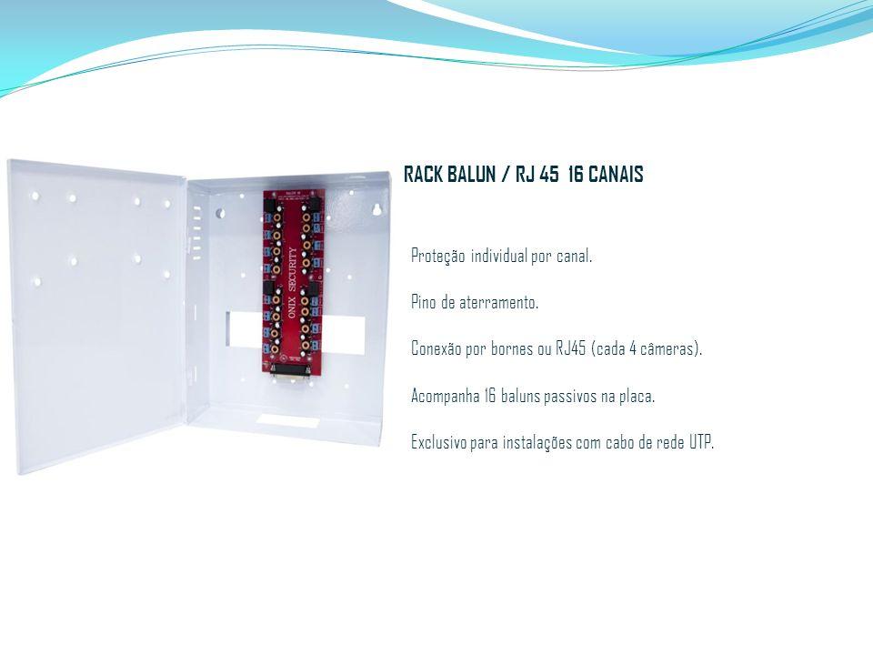 RACK BALUN / RJ 45 16 CANAIS