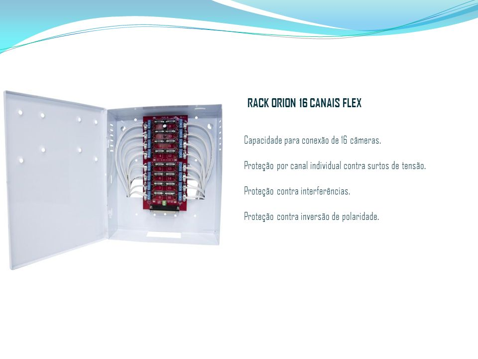 RACK ORION 16 CANAIS FLEX