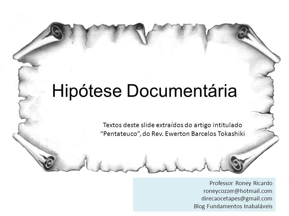 Hipótese Documentária
