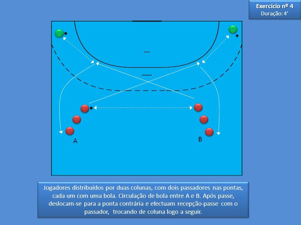 Exercício nº 4 Duração: 4' A. B.