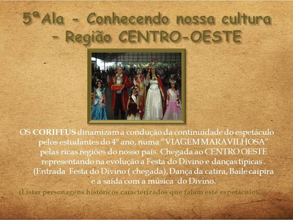 5ªAla - Conhecendo nossa cultura – Região CENTRO-OESTE