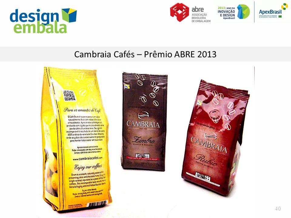 Cambraia Cafés – Prêmio ABRE 2013