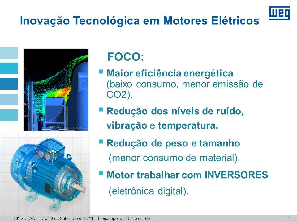 Motor 15cv / 4 polos 68ª SOEAA – 27 a 30 de Setembro de 2011 – Florianópolis - Décio da Silva