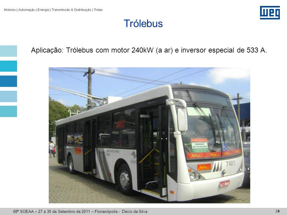 TRAÇÃO ELÉTRICA Projeto Pálio Em andamento: