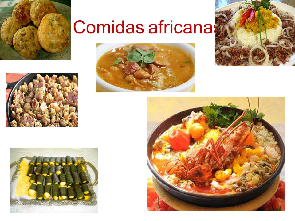 Comidas africanas