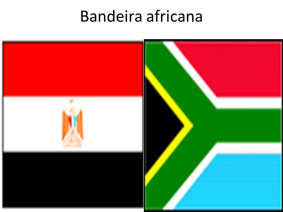 Bandeira africana
