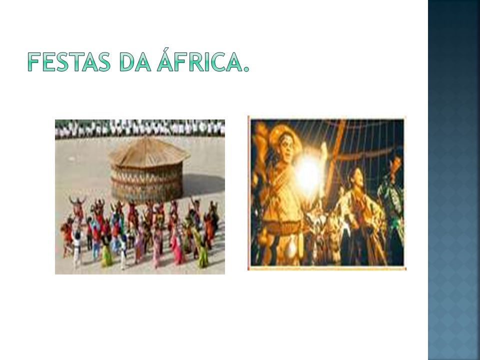 Festas da áfrica.