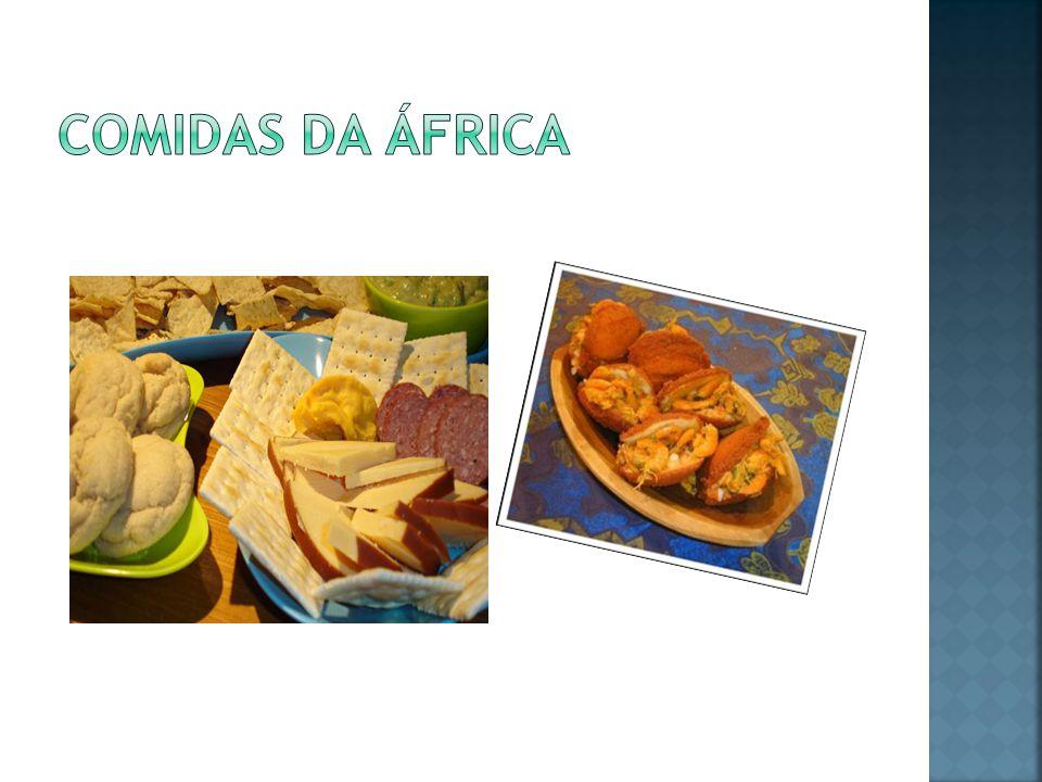 Comidas da áfrica
