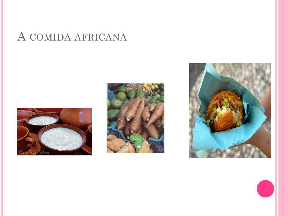 A comida africana