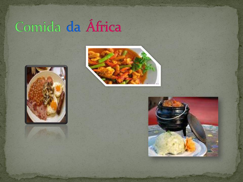 Comida da África