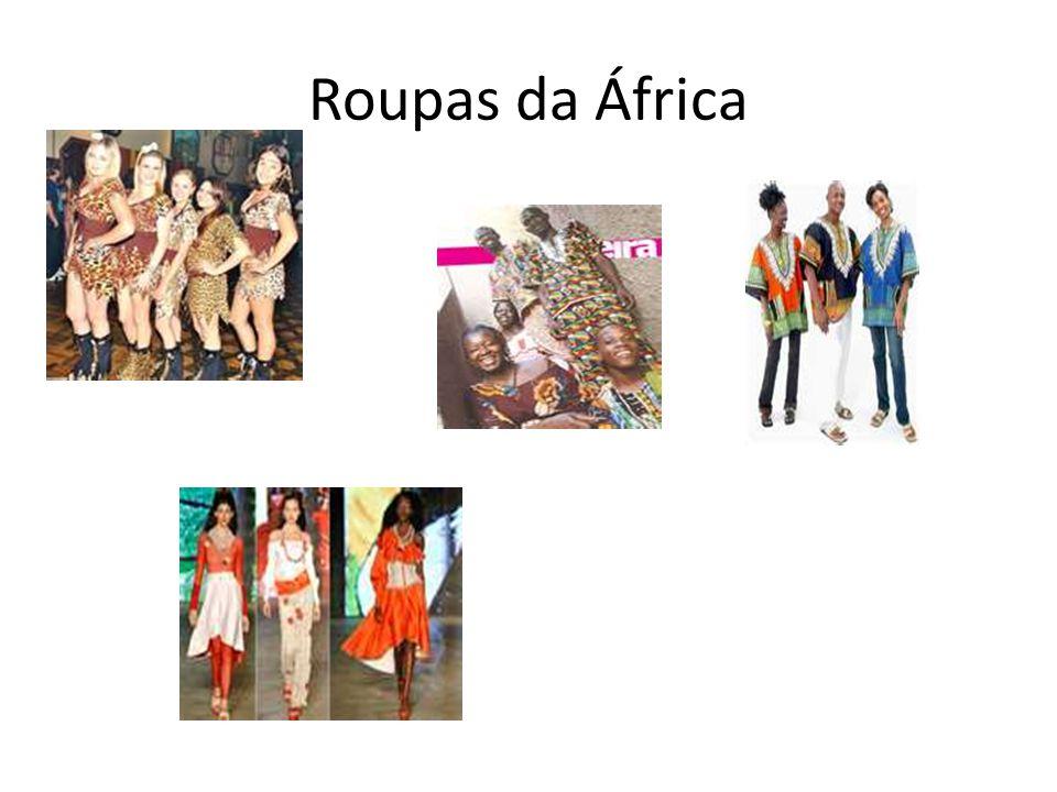 Roupas da África