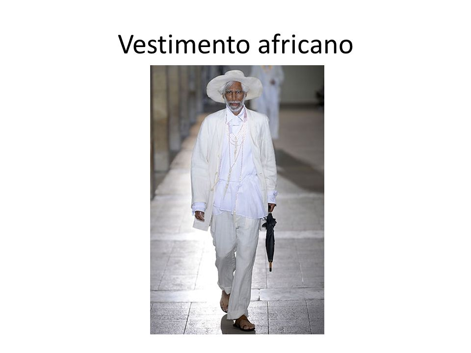 Vestimento africano