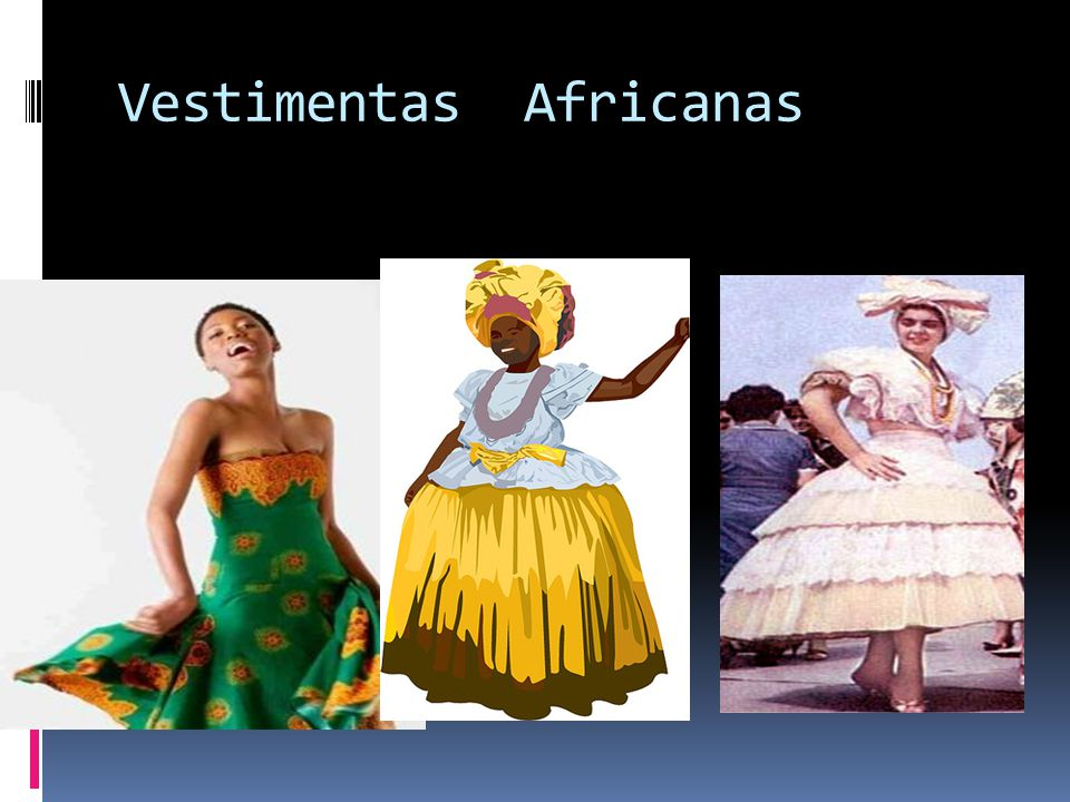 Vestimentas Africanas