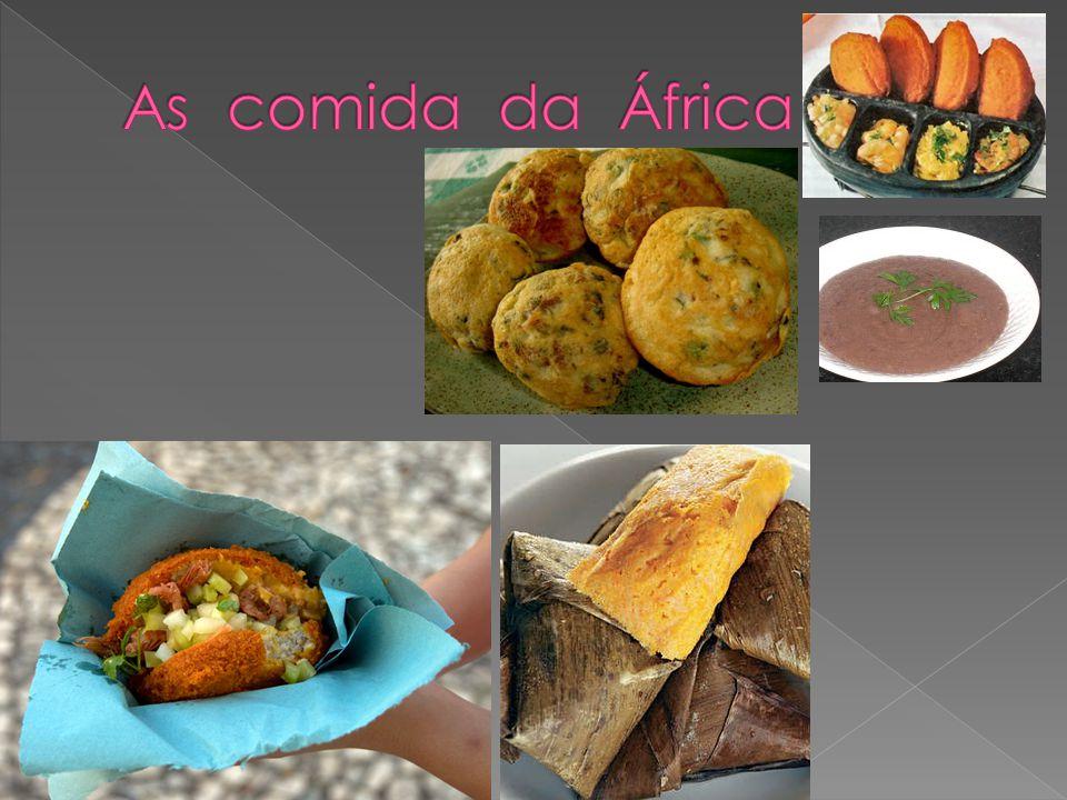 As comida da África