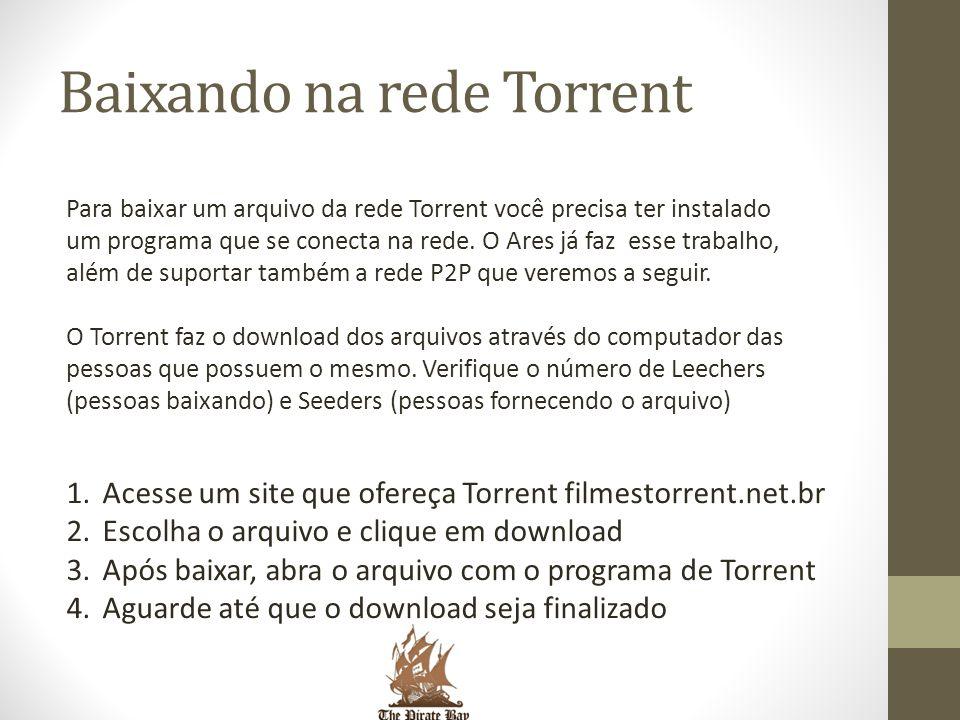 Baixando na rede Torrent
