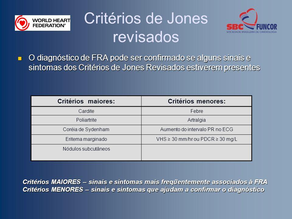 Critérios de Jones revisados