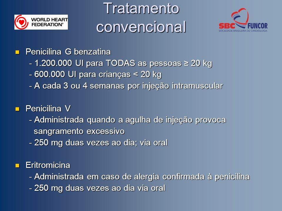 Tratamento convencional