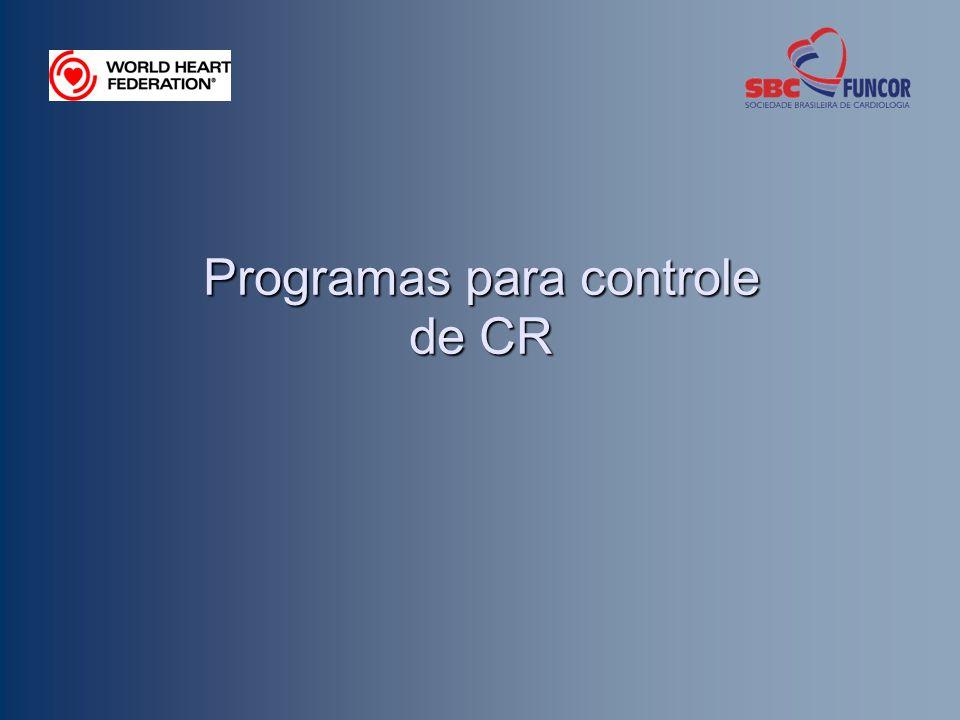 Programas para controle de CR
