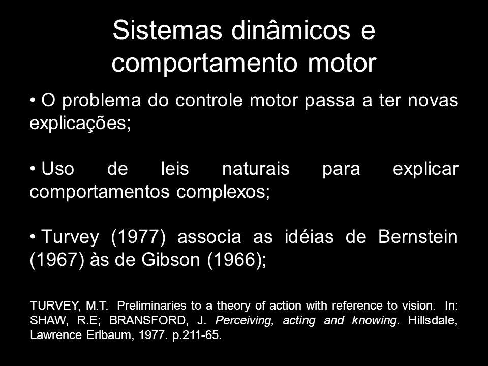 Sistemas dinâmicos e comportamento motor