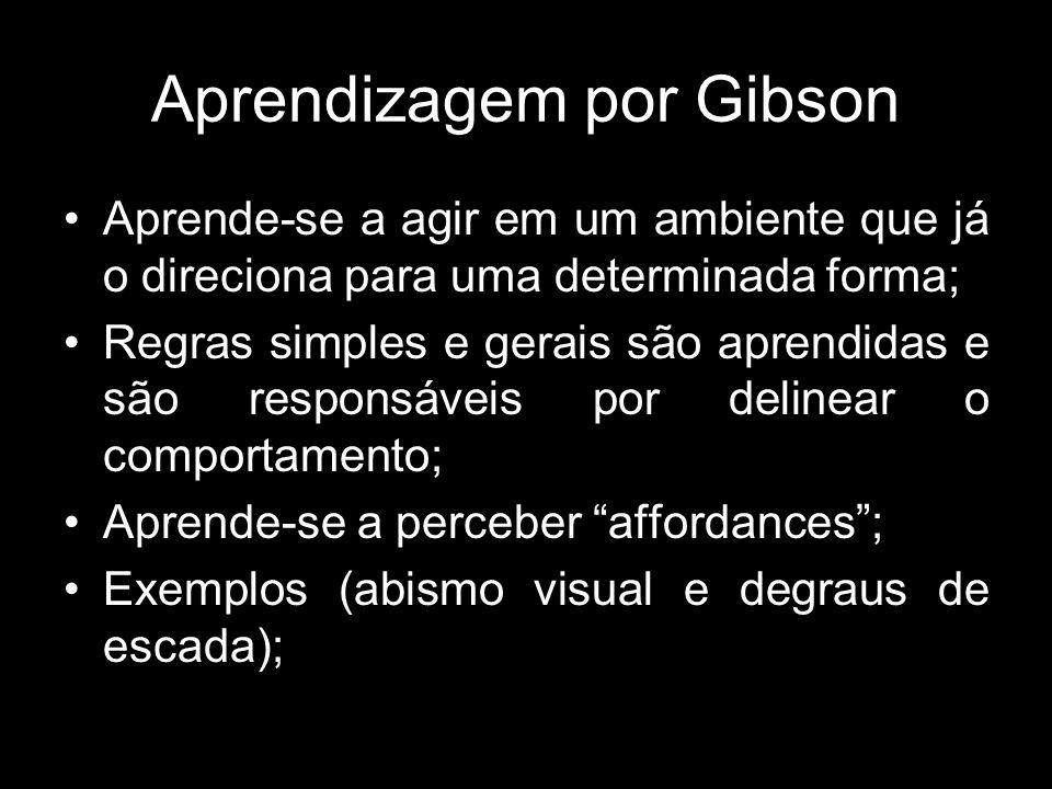 Aprendizagem por Gibson