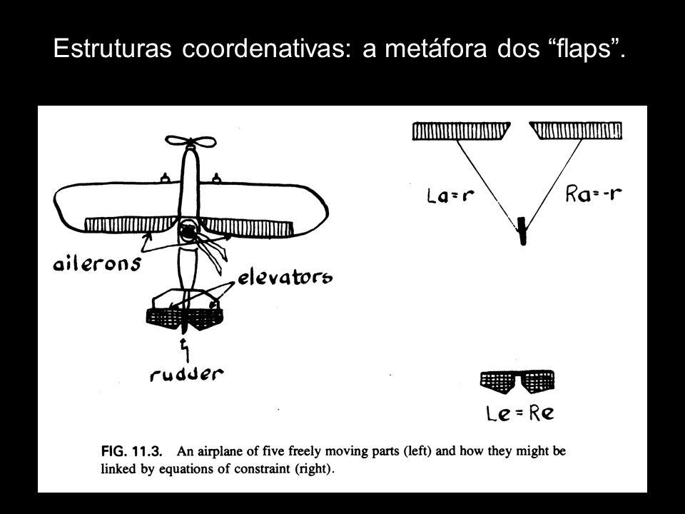 Estruturas coordenativas: a metáfora dos flaps .