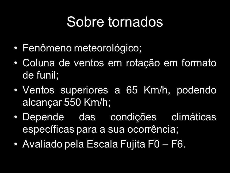 Sobre tornados Fenômeno meteorológico;
