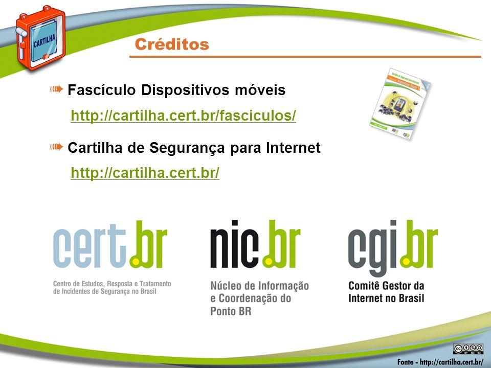 Créditos Fascículo Dispositivos móveis