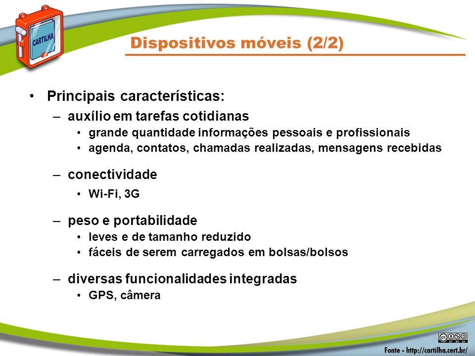 Dispositivos móveis (2/2)