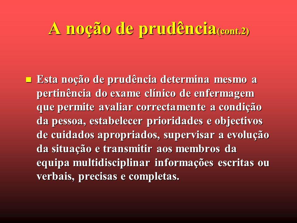 A noção de prudência(cont.2)