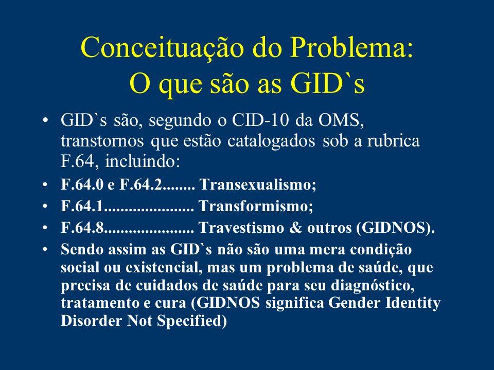 Conceituação do Problema: O que são as GID`s