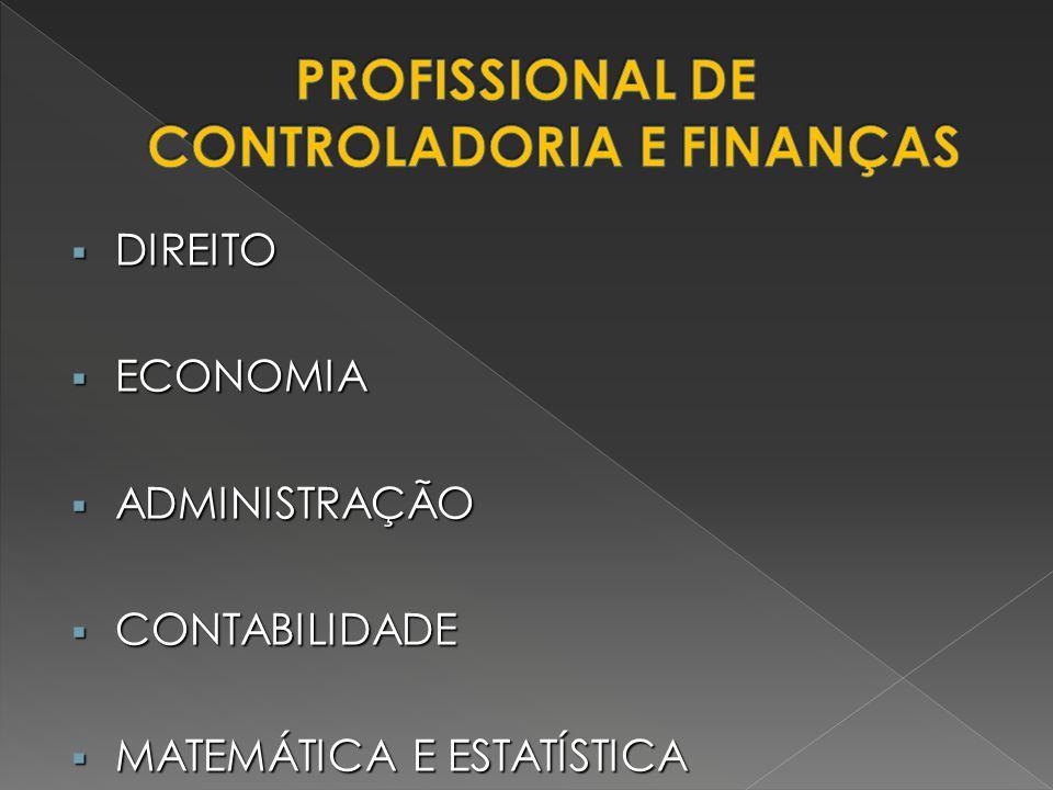 PROFISSIONAL DE CONTROLADORIA E FINANÇAS