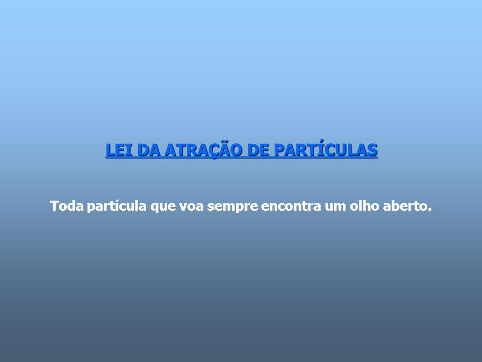 LEI DA ATRAÇÃO DE PARTÍCULAS