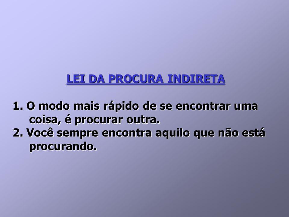 LEI DA PROCURA INDIRETA