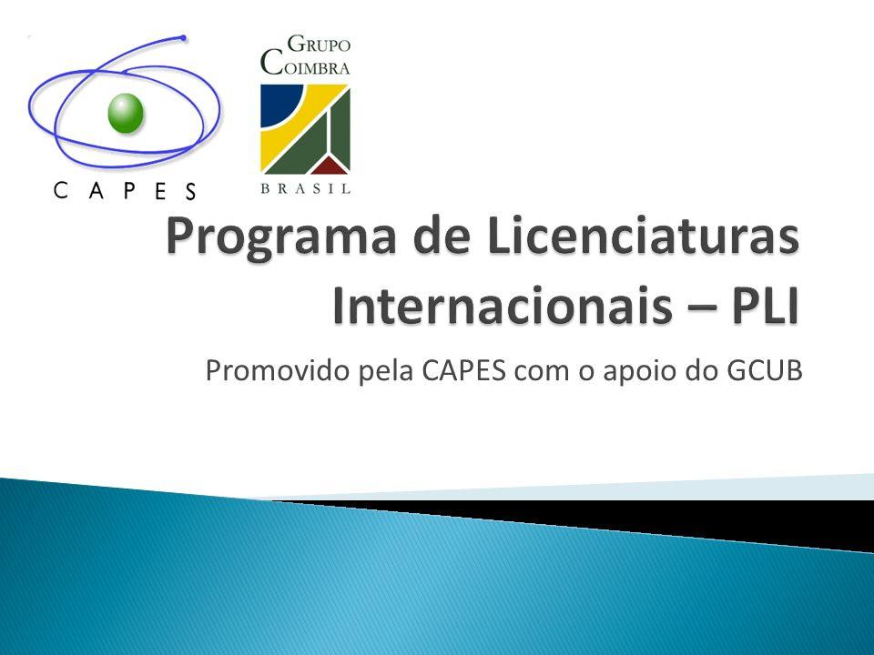 Programa de Licenciaturas Internacionais – PLI