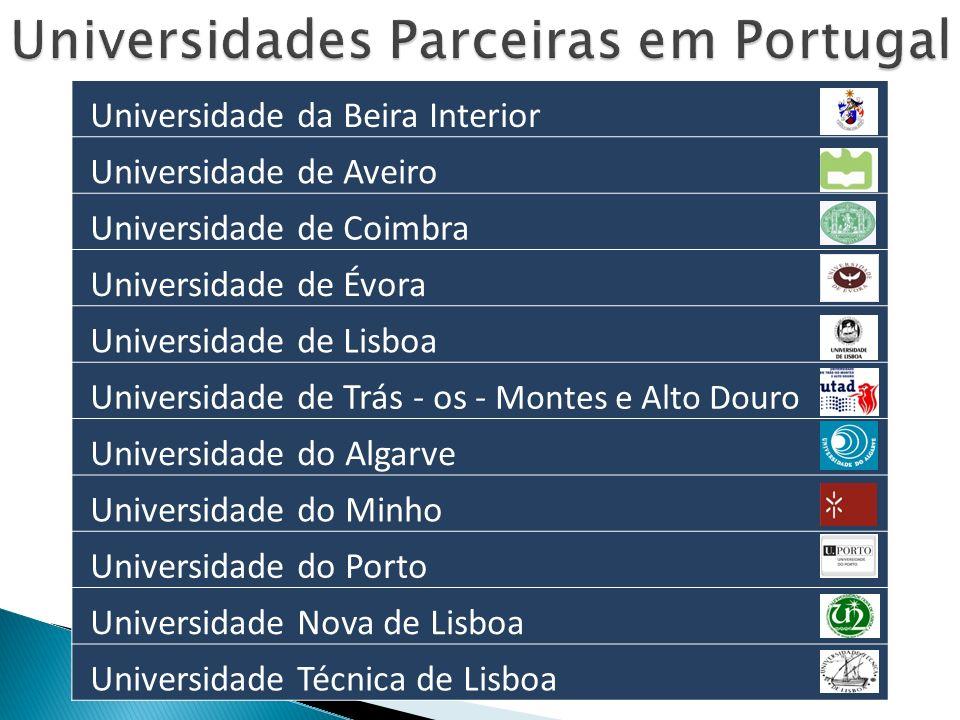 Universidades Parceiras em Portugal