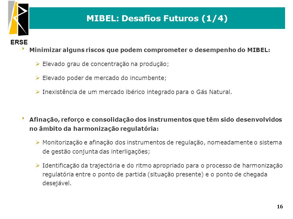 MIBEL: Desafios Futuros (1/4)