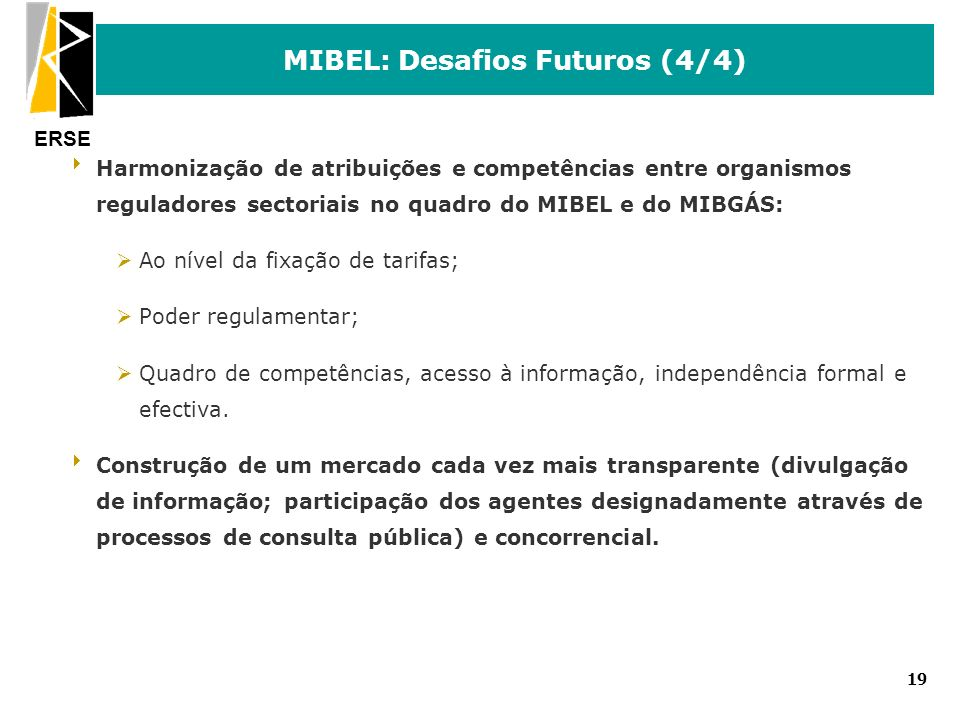 MIBEL: Desafios Futuros (4/4)