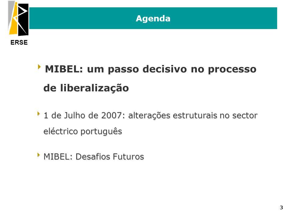 MIBEL: um passo decisivo no processo de liberalização
