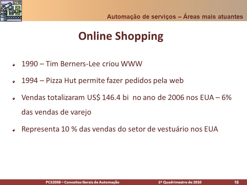 Online Shopping 1990 – Tim Berners-Lee criou WWW