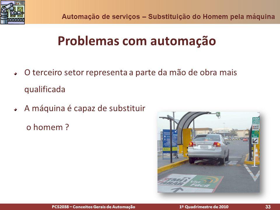 Problemas com automação