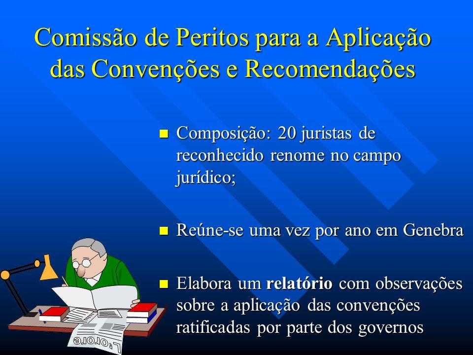 Comissão de Peritos para a Aplicação das Convenções e Recomendações