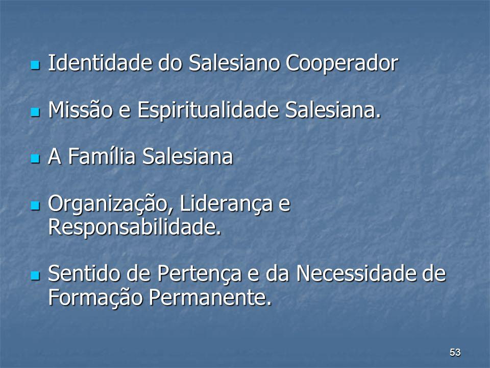 Identidade do Salesiano Cooperador