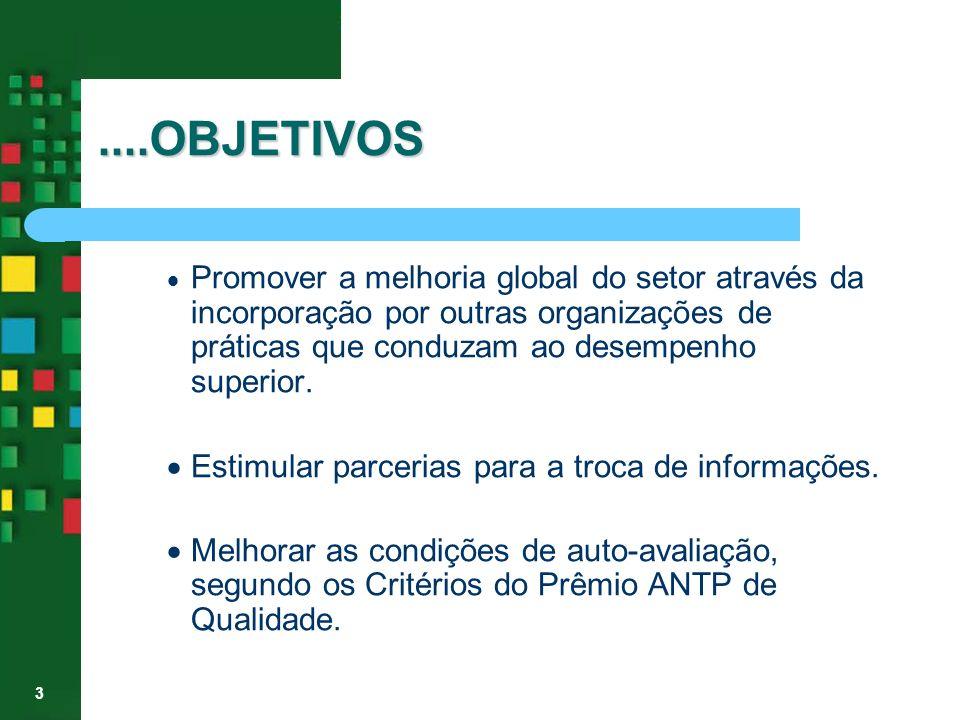 ....OBJETIVOS · Estimular parcerias para a troca de informações.