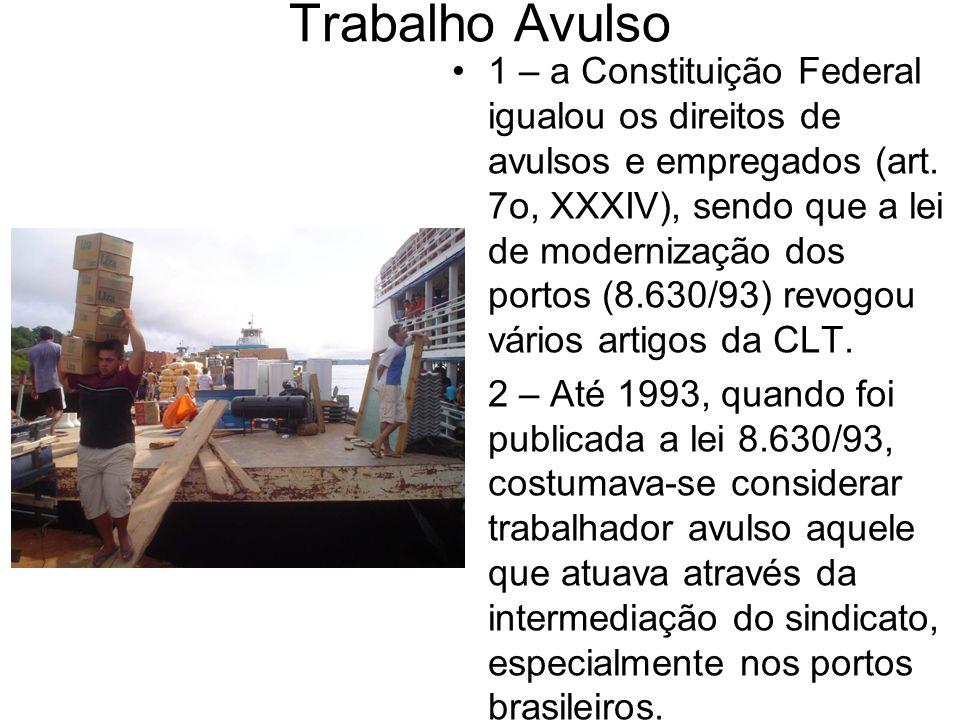 Trabalho Avulso