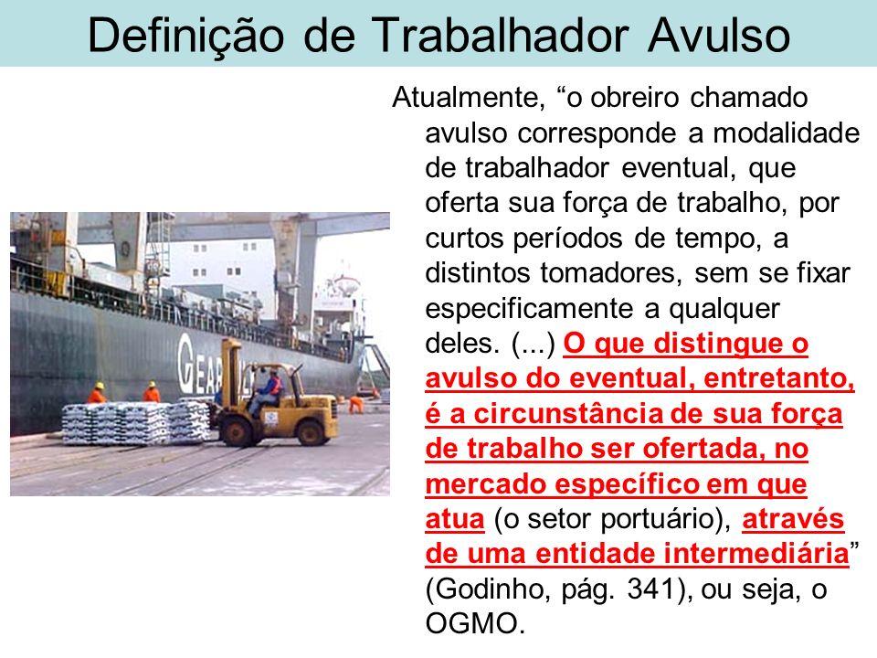 Definição de Trabalhador Avulso