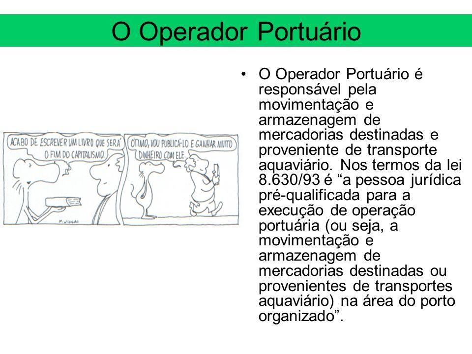 O Operador Portuário