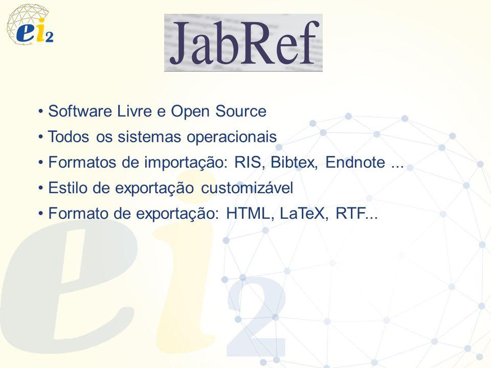 Software Livre e Open Source