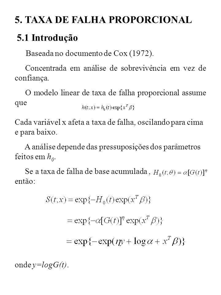 5. TAXA DE FALHA PROPORCIONAL